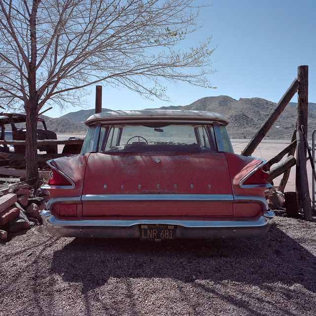 mercury retrograde / route 66. hackberry, az. 2015.