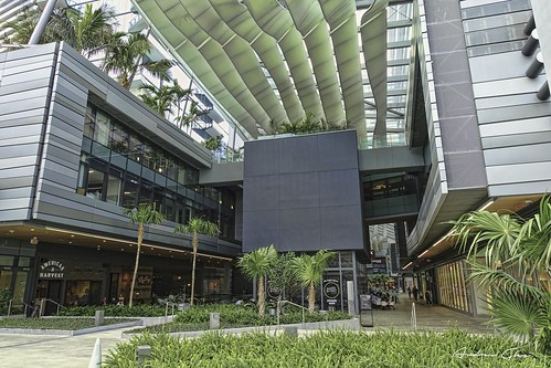 Architecture of Downtown Miami.