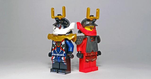 RECENZJA LEGO NINJAGO Synowie Garmadona 11