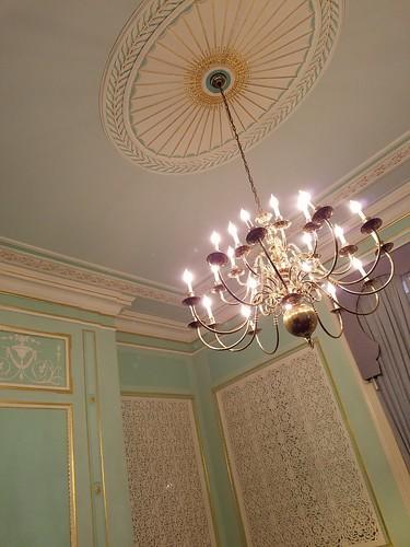 Uzbek Embassy Chandelier