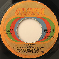 DENNIS COFFEY AND THE DETROIT GUITAR BAND:TAURUS(LABEL SIDE-A)