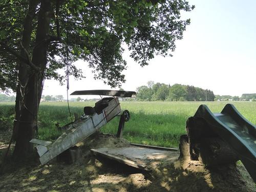 Playground airplane in Trienenkant