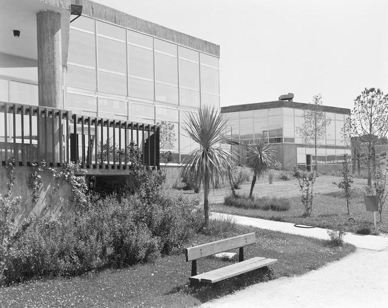 Univeridad Laboral. Fotografía de Juan Miguel Pando Barrero © Fototeca del IPCE signatura PAN-B-027083_P