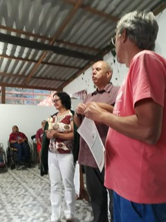 02 05 2018 Missa Casa do Bebê Comunidade Jesus Menino