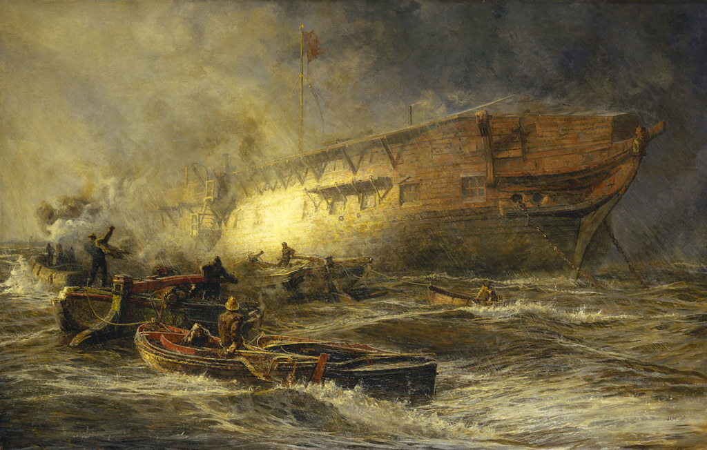 Storm and Sunshine - A Battle with the Elements (1885)