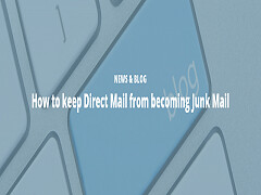 How to keep Direct Mail from becoming Junk Mail