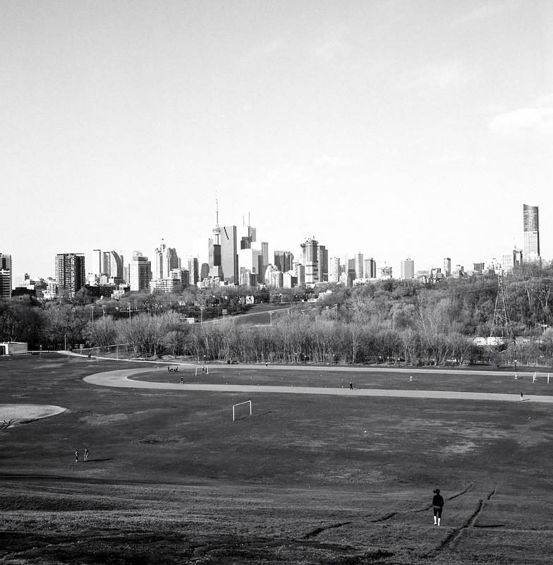 Toronto Skyline, Riverdale Park.