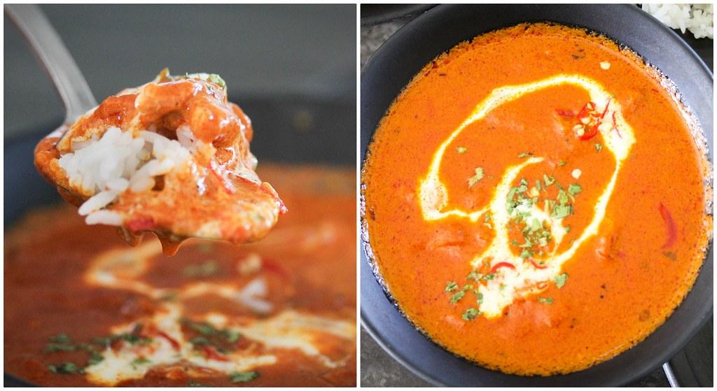 Chicken Tikka Masala Collage
