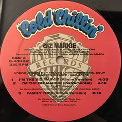 BIZ MARKIE:YOUNG GIRL BLUEZ(LABEL SIDE-B)