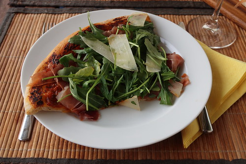 Pizza Parma (mein 1. Viertel)