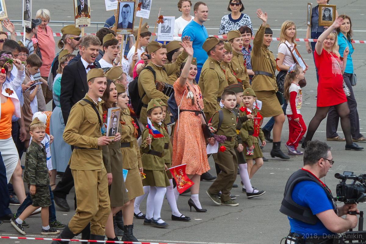 Бессмертный полк Саратов 2018 фото 16