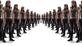 Summer Glau tscc cameron army dream v surround