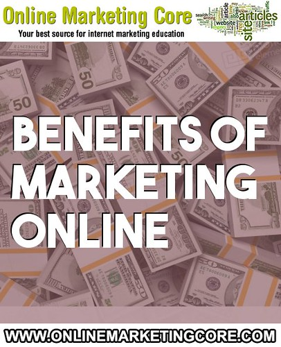 benefits of marketing online