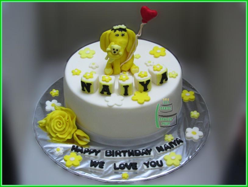 Cake Gajah NAIYA 18 cm
