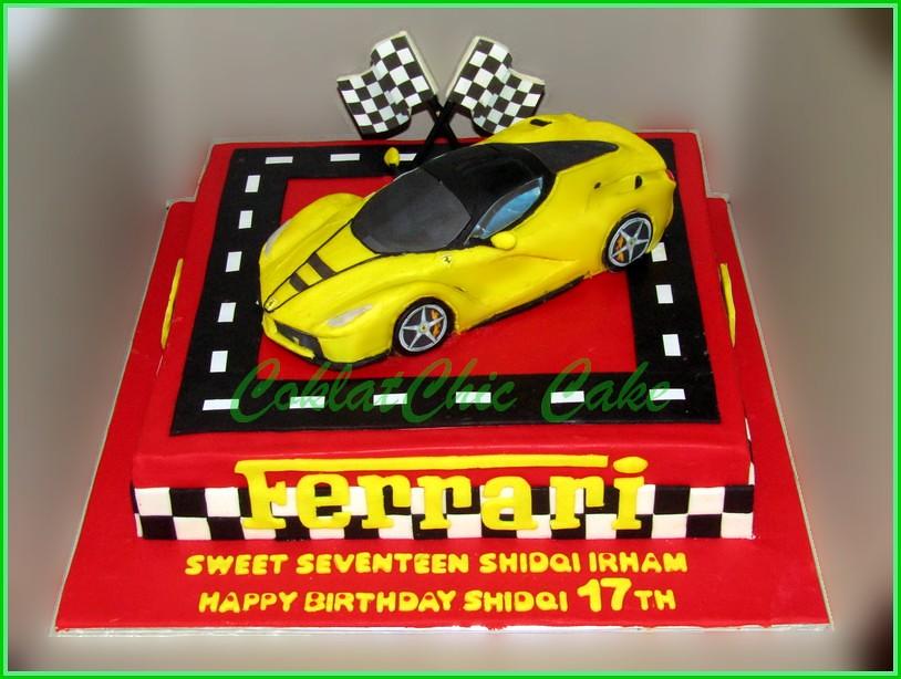 Cake Ferrari LaFerrari SHIDQI 30 cm
