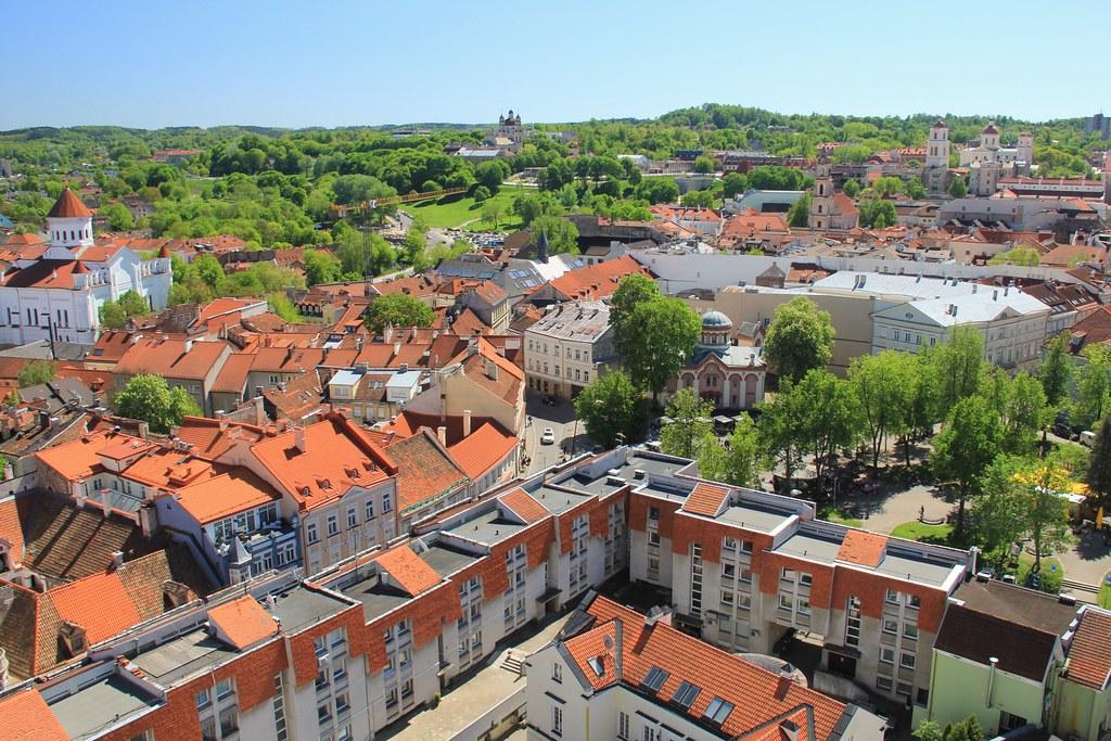 Vilnius' skyline
