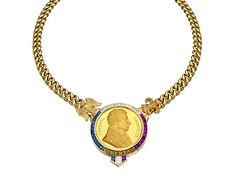 Bulgari-Layfayette medal