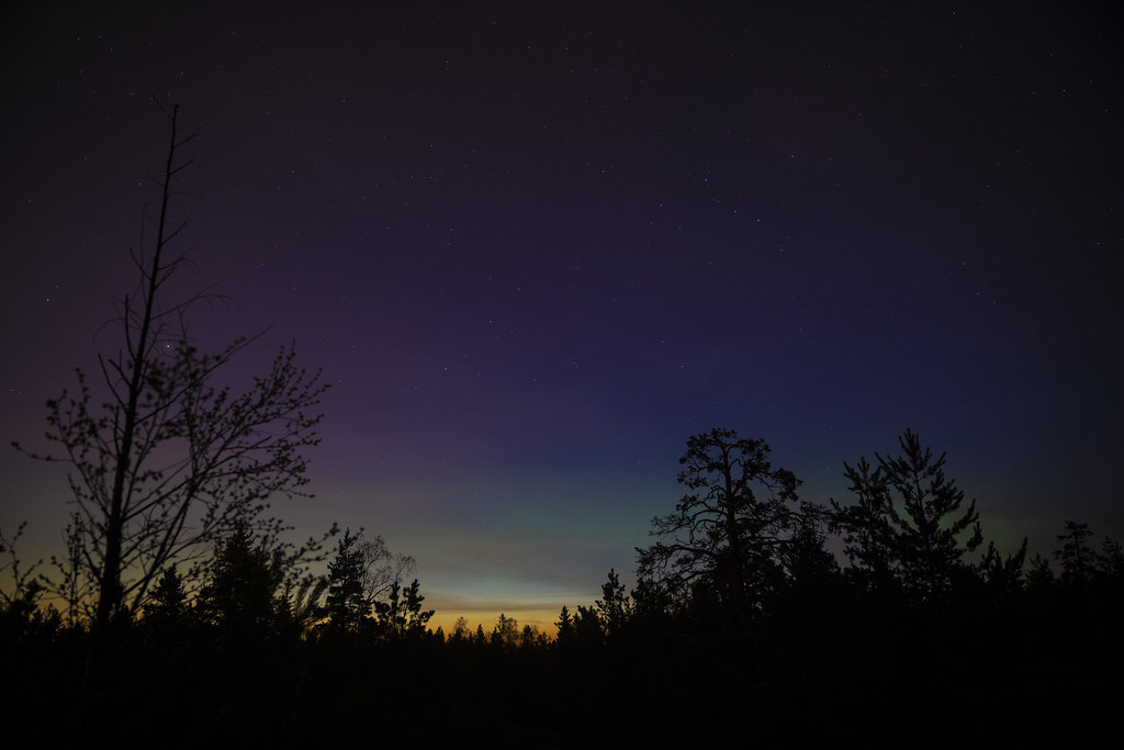 Northern Lights in May!