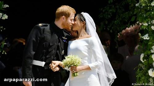 صور حفل الزفاف الاسطوري فرح الامير هاري وميجان ماركل