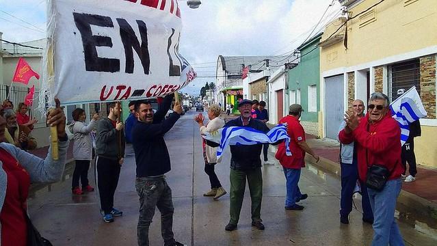 Trabajadores de MANTEX en conflicto