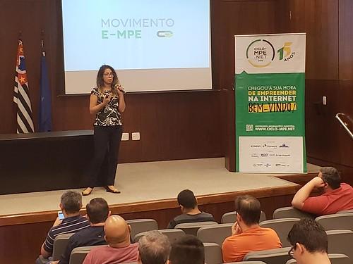 CAMARA-E.NET - Letícia Martins - São José dos Campos - SP - 05 de maio de 2018 - Ciclo MPE.net