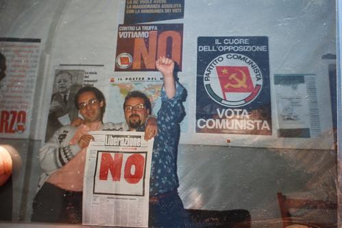 Tanti anni fa quando militava nel Partito Comunista