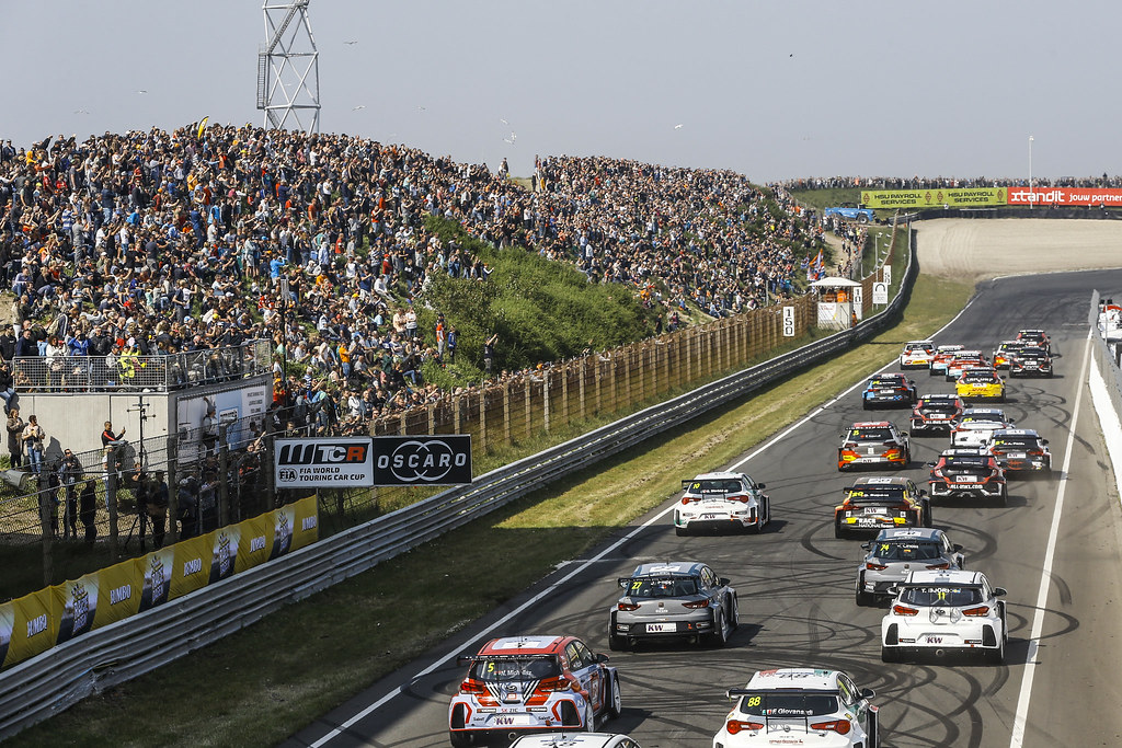 START RACE 1 during the 2018 FIA WTCR World Touring Car cup of Zandvoort, Netherlands from May 19 to 21 - Photo Jean Michel Le Meur / DPPI