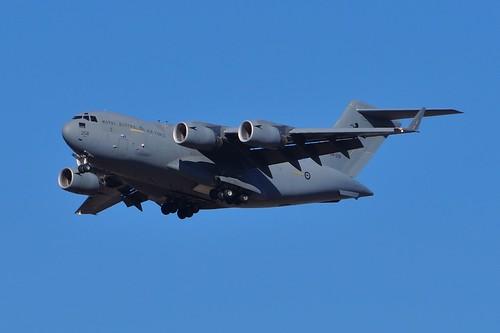 A41-208 Royal Australian Air Force Boeing C-17A Globemaster III