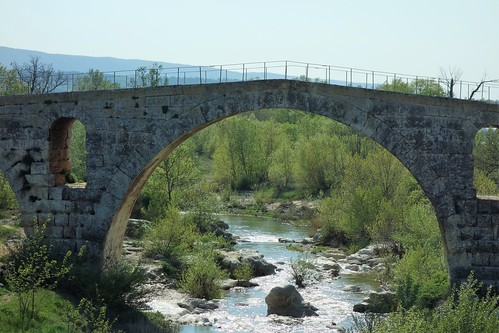 Le Pont Julien - Roman Bridge - near Bonnieux, France