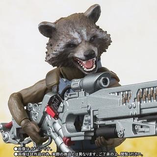 S.H.Figuarts 《復仇者聯盟3:無限之戰》「火箭浣熊」 嘴砲登場!ロケット・ラクーン(アベンジャーズ/インフィニティ・ウォー)