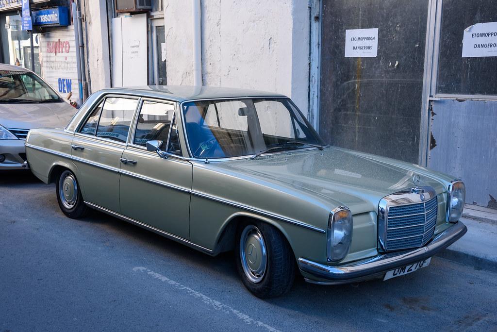 Cyprus, Larnaca, Mercedes W114