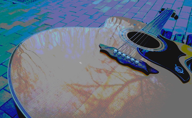 My trusty old guitar