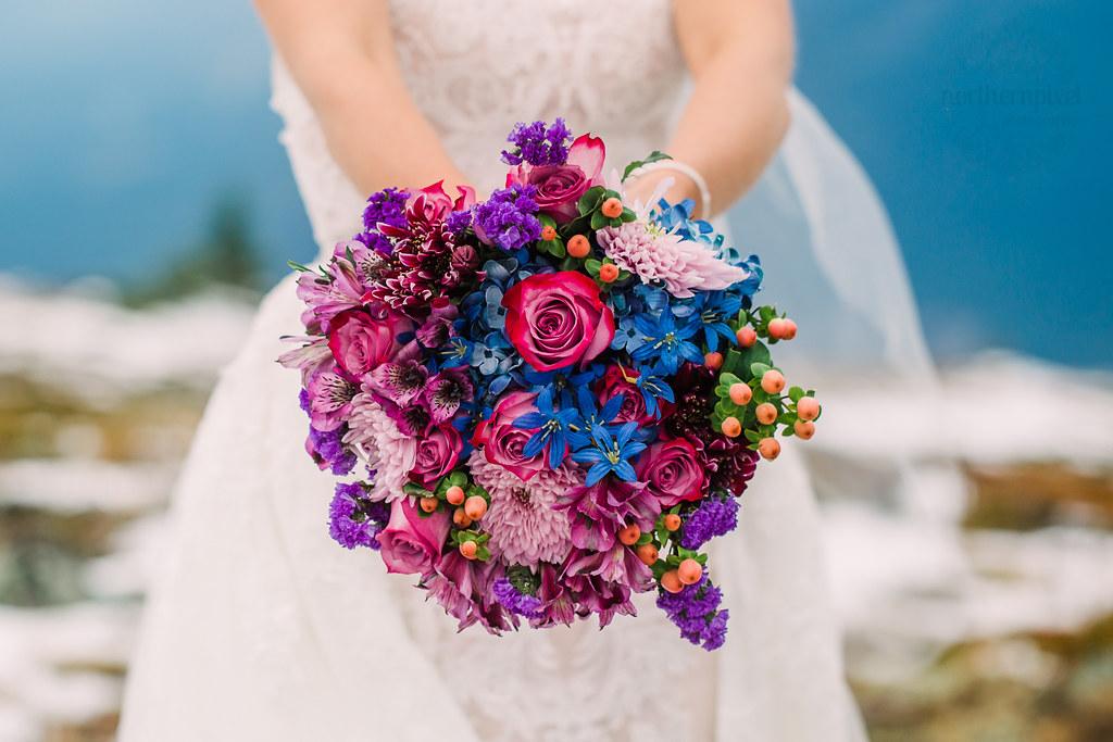 Bridal Bouquet - Valemount BC