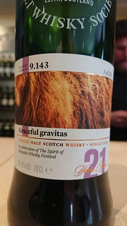 SMWS 9.143 - Graceful gravitas