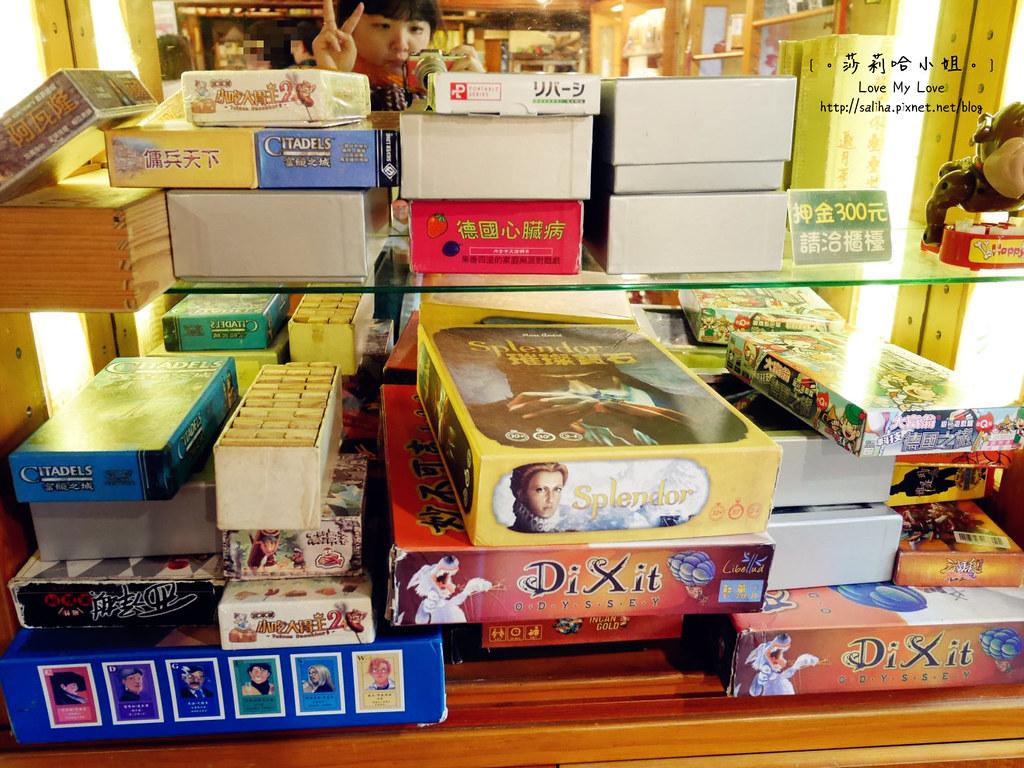 台北貓空可玩桌遊餐廳推薦邀月茶坊玩牌 (1)