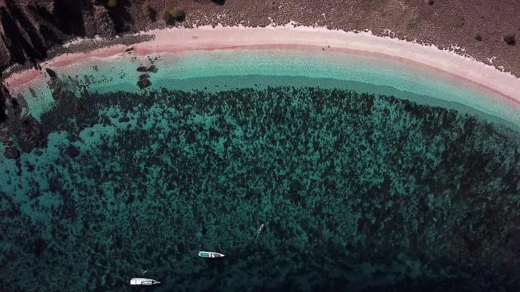 Pink Beach, Padar Island, Flores