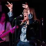 Fri, 11/05/2018 - 6:43pm - Nicole Atkins and her band (including our own DJ Binky Griptite), 5/11/18. Photo by Gus Philippas