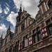 Flemish architecture in Aalst, Belgium