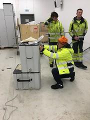VLF testing med Bravida på Roan Vindpark