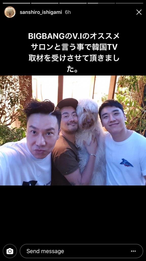 BIGBANG via jirilife - 2018-05-16  (details see below)