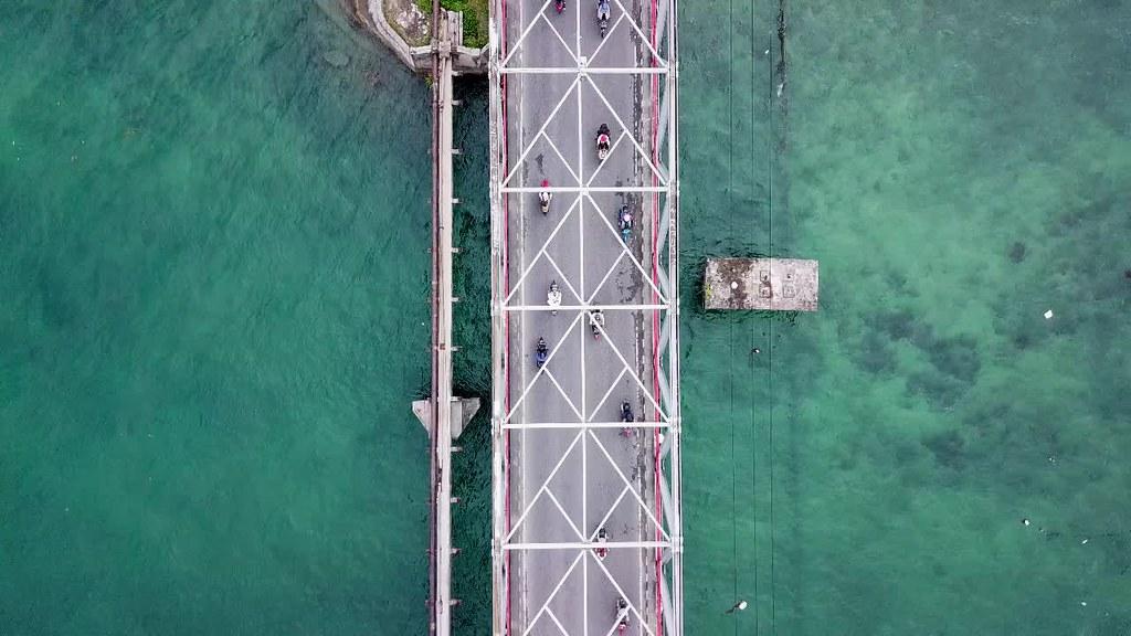 Tual and Langgur City Bridge, Kei, Maluku