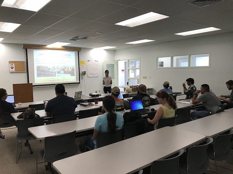 Collaborative Vegetation Management Mapping Workshop in Hilo with MKWA and TMA 1/30/2018