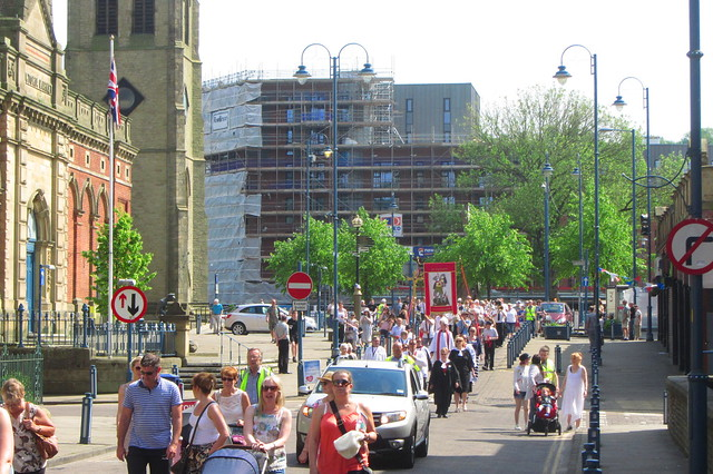 Trinity Street, Stalybridge (colour)