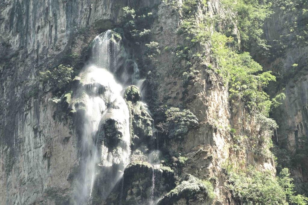 Canon del sumidero - Cascade 1