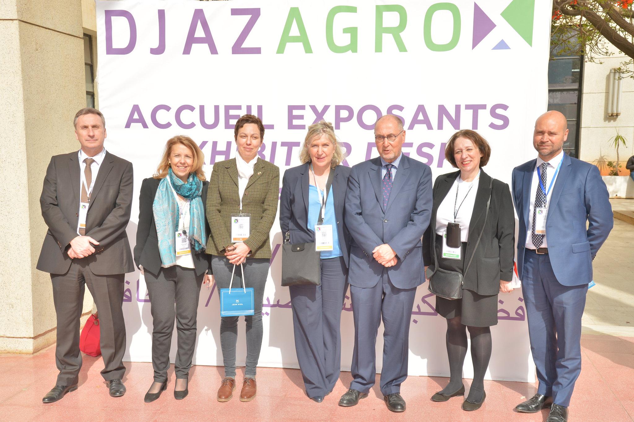 DJAZAGRO 2018 - Visite de l'ambassadeur de france