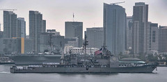 USS Lake Champlain (CG 57) transits San Diego Bay, May 9. (U.S. Navy)