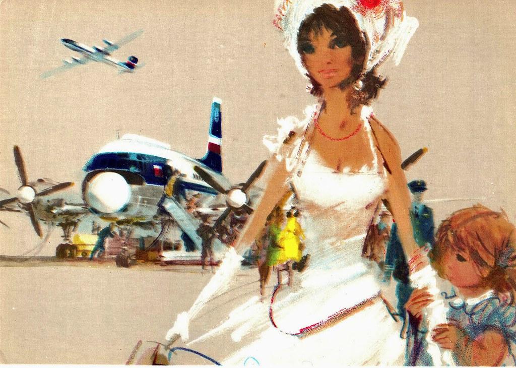Janusz Grabiański - LOT - Polish Airlines - Ilyushin IL-18