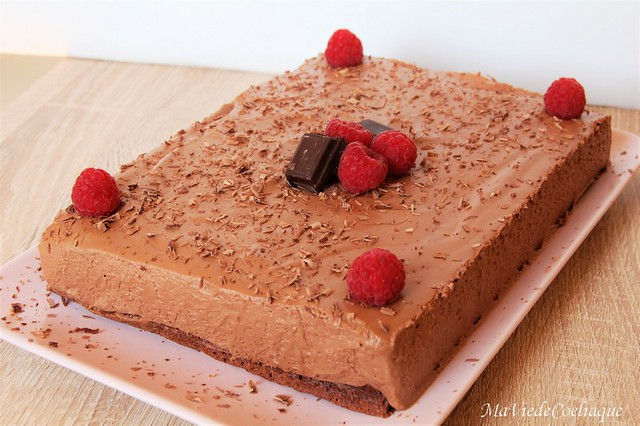 entremet tout chocolat sans gluten