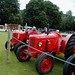 Antique Tractors in Highland Games