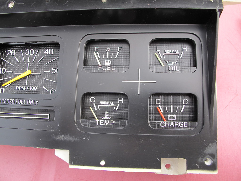 RCCI gauge installed in the panel